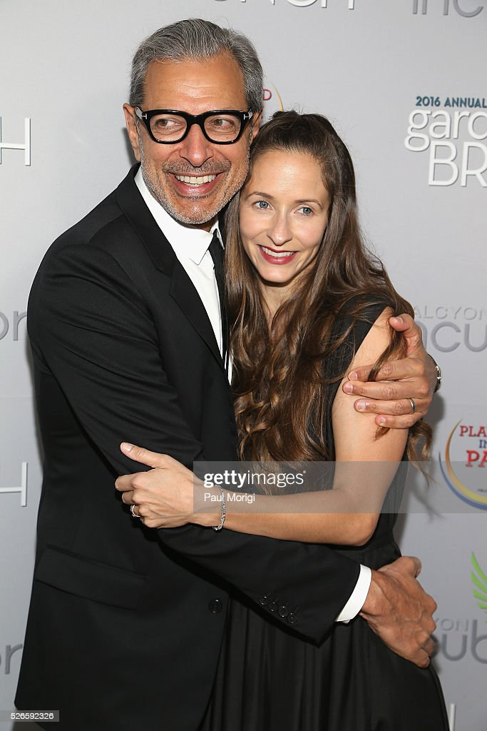 Actor <a gi-track='captionPersonalityLinkClicked' href=/galleries/search?phrase=Jeff+Goldblum&family=editorial&specificpeople=204160 ng-click='$event.stopPropagation()'>Jeff Goldblum</a> and dancer <a gi-track='captionPersonalityLinkClicked' href=/galleries/search?phrase=Emilie+Livingston&family=editorial&specificpeople=2419318 ng-click='$event.stopPropagation()'>Emilie Livingston</a> attend the Garden Brunch prior to the 102nd White House Correspondents' Association Dinner at the Beall-Washington House on April 30, 2016 in Washington, DC.