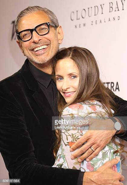 Actor Jeff Goldblum and Emilie Livingston attend 'A Celebration of Journalism' Party 2016 White House Correspondents' Association Dinner at District...