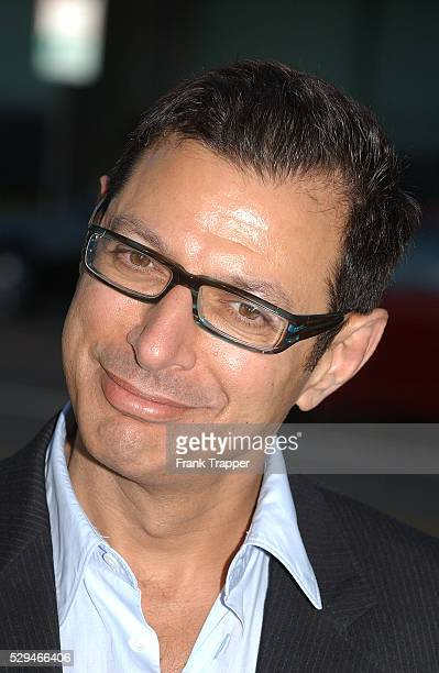 Actor Jeff Goldblum arrives at the premiere of 'The Manchurian Candidate' in Los Angeles