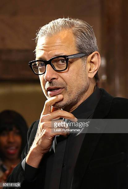 Actor Jeff Goldblum attends 'A Celebration of Journalism' Party 2016 White House Correspondents' Association Dinner at District Commons on April 29...