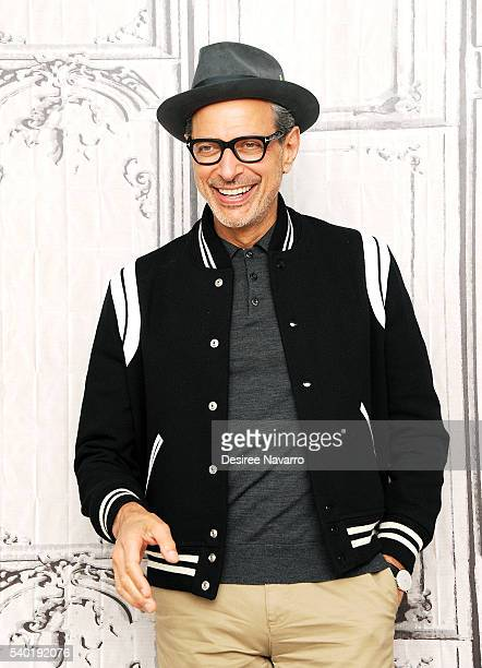 Actor Jeff Goldblum attends 'Independence Day Resurgence' during AOL Build Speaker Series at AOL Studios In New York on June 14 2016 in New York City