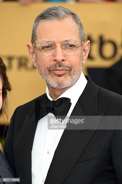 Actor Jeff Goldblum attends the 21st Annual Screen Actors Guild Awards at The Shrine Auditorium on January 25 2015 in Los Angeles California