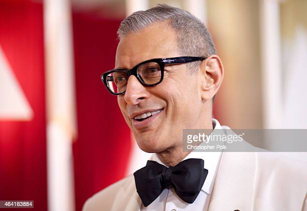 Actor Jeff Goldblum attends the 87th Annual Academy Awards at Hollywood Highland Center on February 22 2015 in Hollywood California
