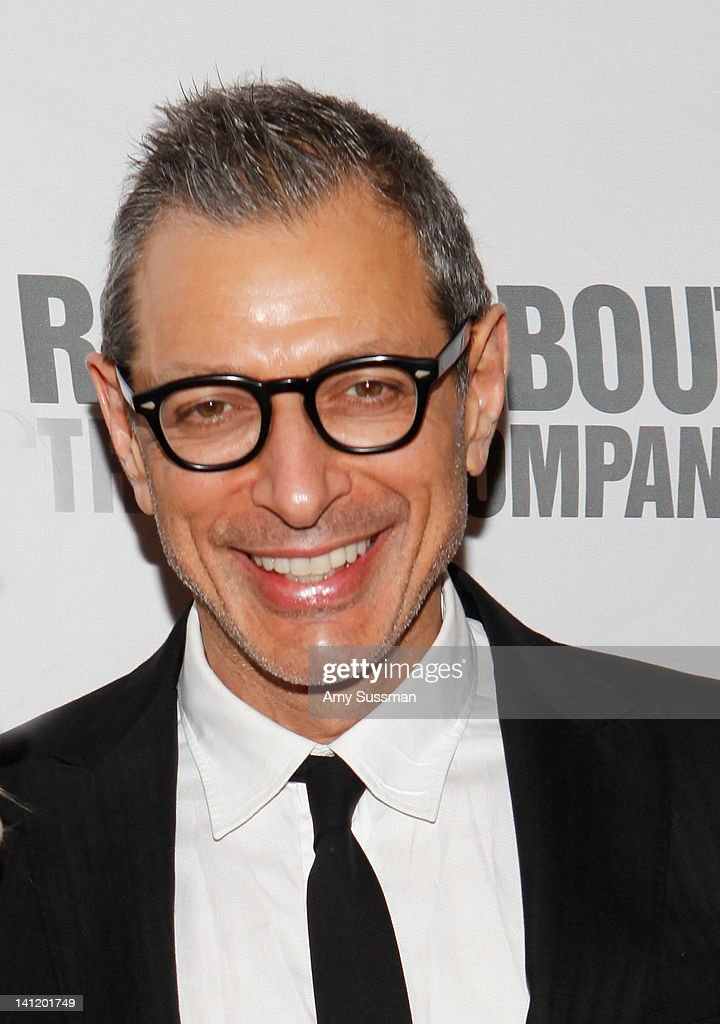 Actor <a gi-track='captionPersonalityLinkClicked' href=/galleries/search?phrase=Jeff+Goldblum&family=editorial&specificpeople=204160 ng-click='$event.stopPropagation()'>Jeff Goldblum</a> attends The Roundabout Theatre 2012 Spring Gala 'From Screen to Stage' dinner and auction at the Hammerstein Ballroom on March 12, 2012 in New York City.