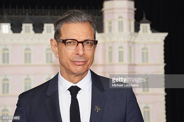 Actor Jeff Goldblum attends the 'The Grand Budapest Hotel' New York Premiere at Alice Tully Hall on February 26 2014 in New York City