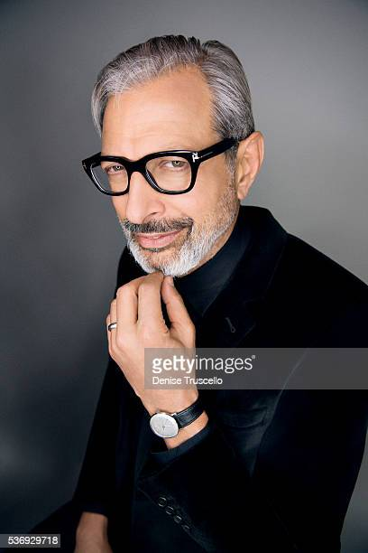Actor Jeff Goldblum is photographed at CinemaCon 2015 on April 12 2016 in Las Vegas Nevada