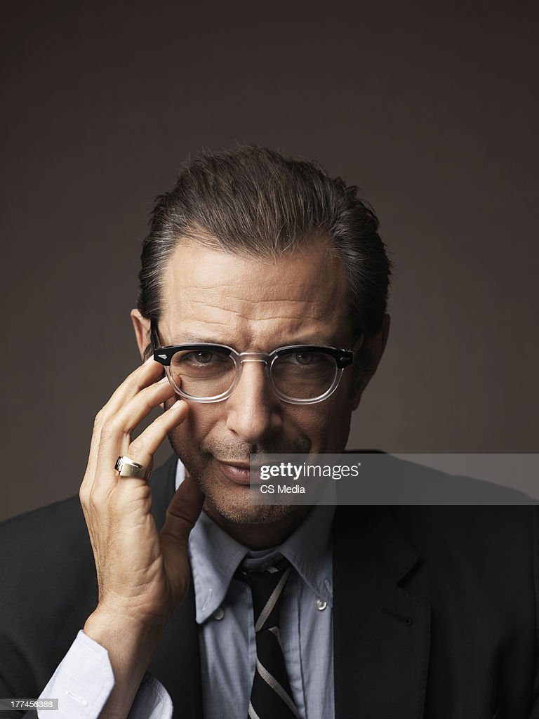Jeff Goldblum, Portrait shoot, September 10, 2008