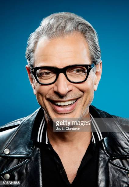 Actor Jeff Goldblum of Marvel's 'ThorRagnarok' poses for a portrait at San Diego Comic Con for Los Angeles Times on July 21 2017 in San Diego...