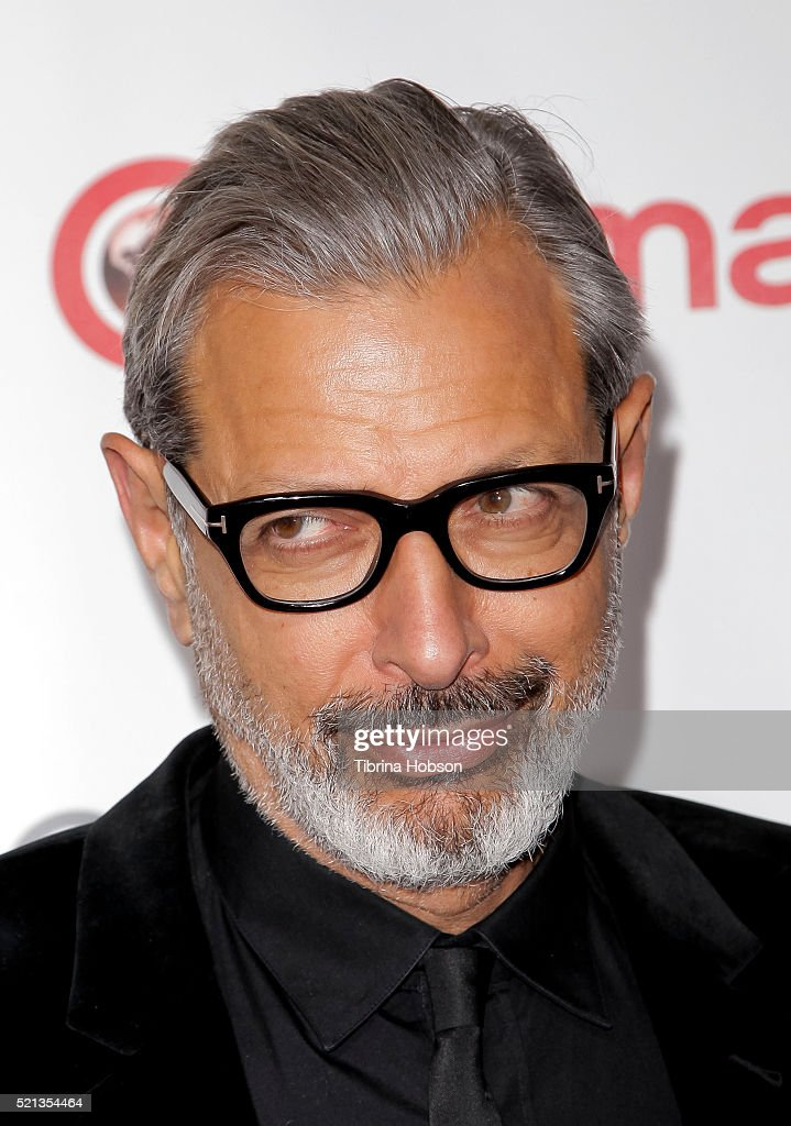 Actor Jeff Goldblum recipient of the Ensemble of the Universe Award for 'Independence Day: Resurgence,' attends the CinemaCon Big Screen Achievement Awards brought to you by the Coca-Cola Company at Omnia Nightclub at Caesars Palace during CinemaCon, the official convention of the National Association of Theatre Owners, on April 14, 2016 in Las Vegas, Nevada.