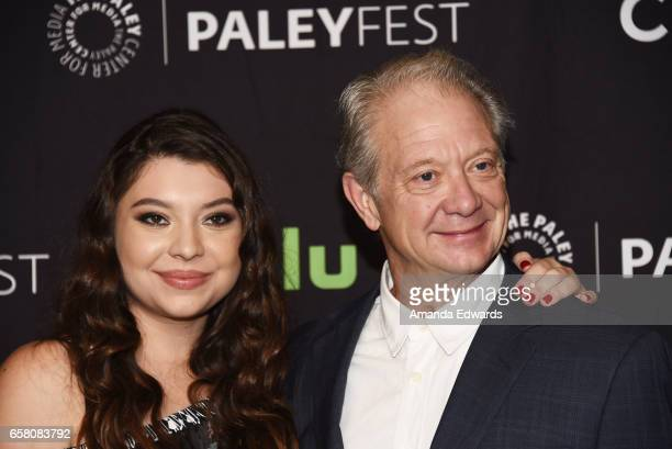 Actor Jeff Perry and Leah Perry attend The Paley Center For Media's 34th Annual PaleyFest Los Angeles 'Scandal' screening and panel at the Dolby...