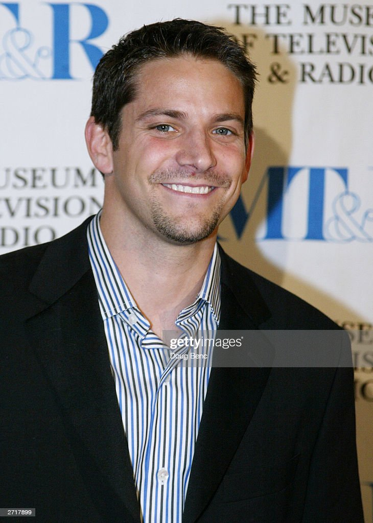 Actor Jeff Timmons before the Museum of Television & Radio's Annual Los Angeles Gala on November 10, 2003 at the Beverly Hills Hotel in Beverly Hills, California.