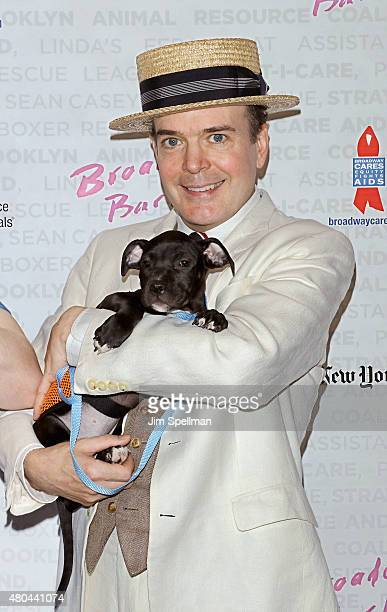Actor Jefferson Mays attends the Broadway Barks 17 at Shubert Alley on July 11 2015 in New York City
