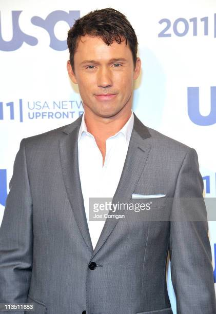 Actor Jeffery Donovan attends the 2011 USA Upfront at The Tent at Lincoln Center on May 2 2011 in New York City