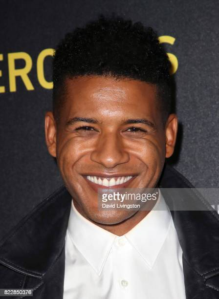 Actor Jeffrey BowyerChapman attends a screening of ATT Audience Network's 'Mr Mercedes' at The Beverly Hilton Hotel on July 25 2017 in Beverly Hills...
