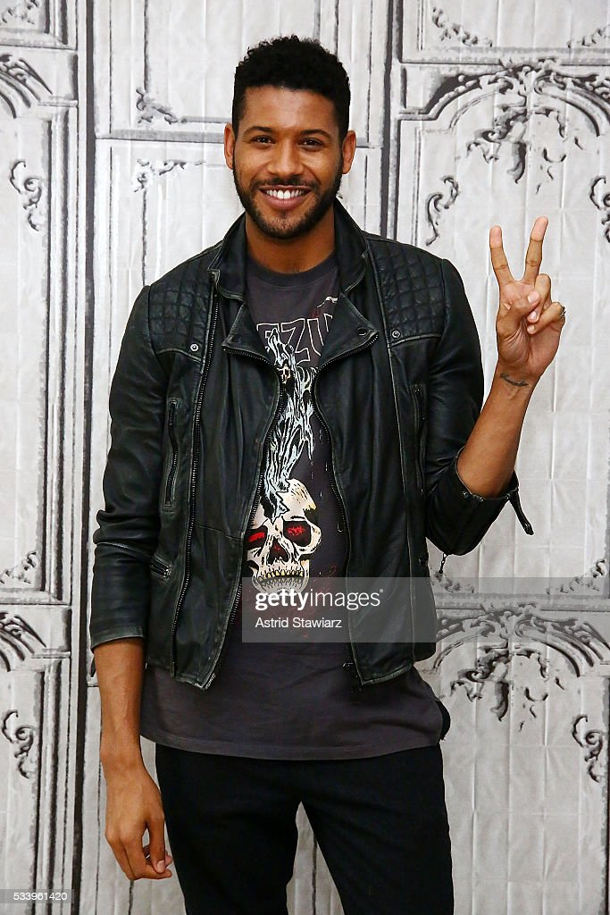 Actor Jeffrey Bowyer-Chapman attends AOL Build Presents: The Cast Of 'UnREAL' at AOL Studios In New York on May 24, 2016 in New York City.