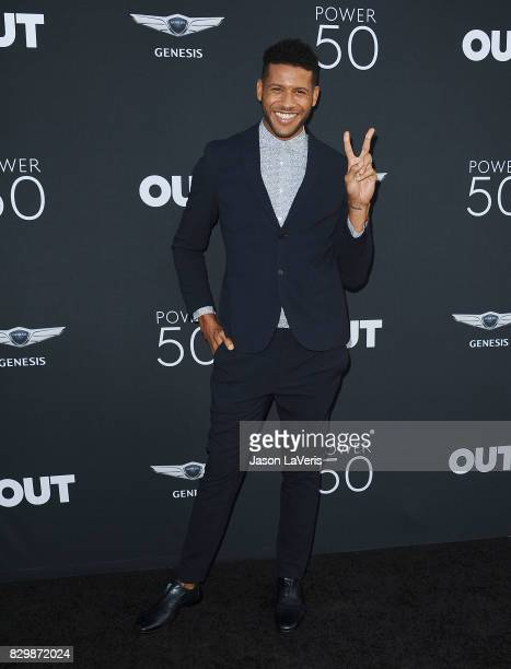Actor Jeffrey BowyerChapman attends OUT Magazine's inaugural POWER 50 gala and awards presentation at Goya Studios on August 10 2017 in Los Angeles...