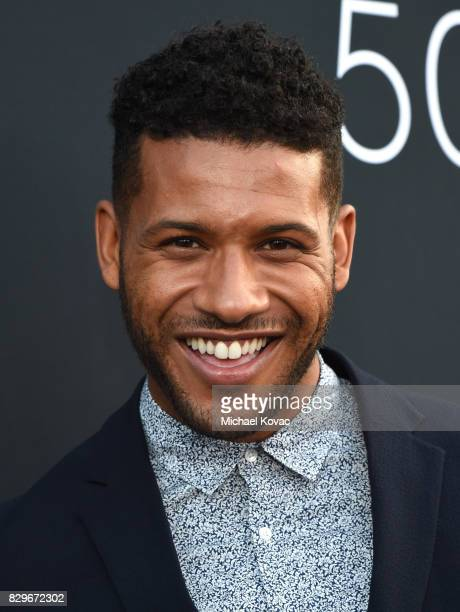Actor Jeffrey BowyerChapman attends OUT Magazine's OUT POWER 50 gala and award presentation presented by Genesis on August 10 2017 in Los Angeles...