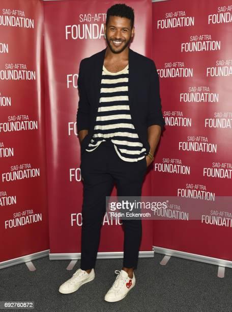 Actor Jeffrey BowyerChapman attends SAGAFTRA Foundation's Conversations with UnREAL at SAGAFTRA Foundation Screening Room on June 5 2017 in Los...
