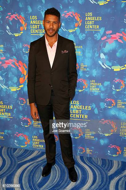 Actor Jeffrey BowyerChapman attends the Los Angeles LGBT Center 47th Anniversary Gala Vanguard Awards at Pacific Design Center on September 24 2016...