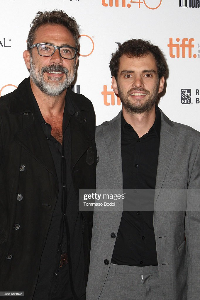 Actor Jeffrey Dean Morgan and director Jonas Cuaron attend the 'Desierto' premiere during the 2015 Toronto International Film Festival held at The Elgin on September 13, 2015 in Toronto, Canada.
