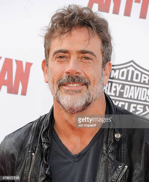Actor Jeffrey Dean Morgan arrives at the Los Angeles Premiere 'AntMan' at Dolby Theatre on June 29 2015 in Hollywood California