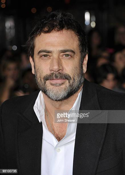 Actor Jeffrey Dean Morgan arrives at 'The Twilight Saga New Moon' premiere held at the Mann Village Theatre on November 16 2009 in Westwood California