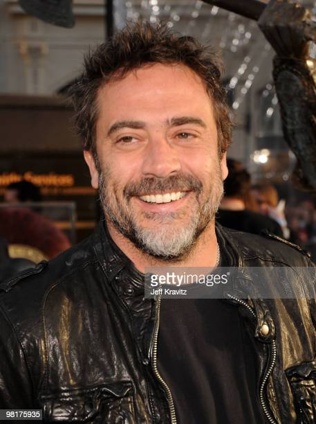Actor Jeffrey Dean Morgan arrives to the premiere 'Clash Of The Titans' held at Grauman's Chinese Theatre on March 31 2010 in Los Angeles California