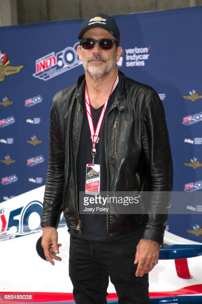 Actor Jeffrey Dean Morgan attends the 101st Indianapolis 500 at Indianapolis Motor Speedway on May 28 2017 in Indianapolis Indiana