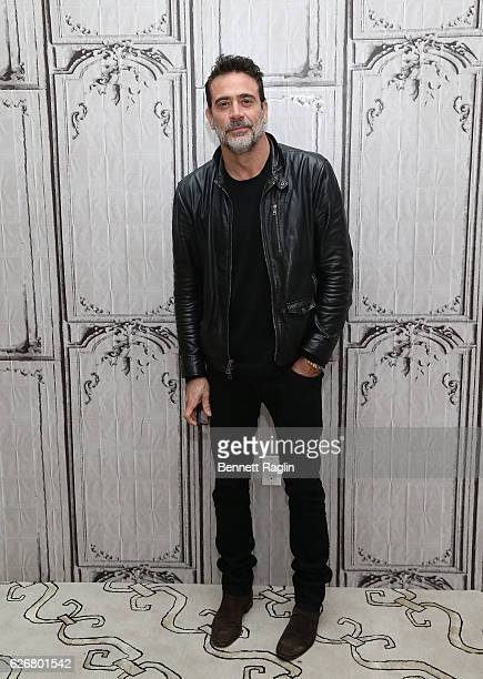 Actor Jeffrey Dean Morgan attends the Build series at AOL HQ on November 30 2016 in New York City
