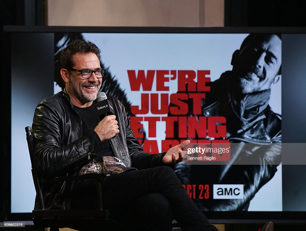 Actor Jeffrey Dean Morgan attends the Build series at AOL HQ on November 30, 2016 in New York City.