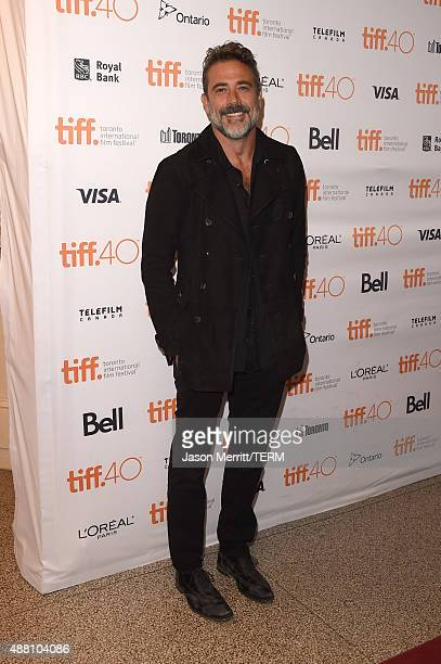 Actor Jeffrey Dean Morgan attends the 'Desierto' premiere during the 2015 Toronto International Film Festival at The Elgin on September 13 2015 in...