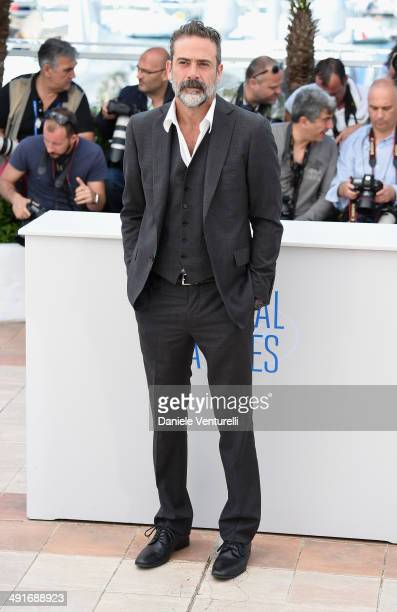 Actor Jeffrey Dean Morgan attends 'The Salvation photocall at the 67th Annual Cannes Film Festival on May 17 2014 in Cannes France