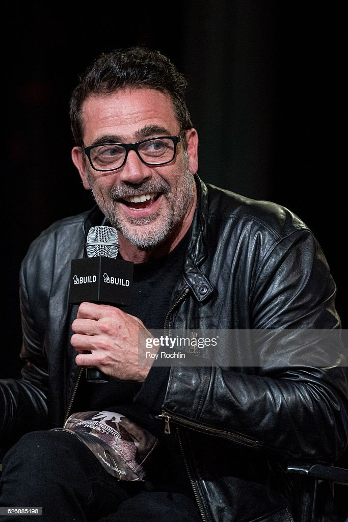 Actor Jeffrey Dean Morgan discusses 'The Walking Dead' during The Build Series at AOL HQ on November 30, 2016 in New York City.