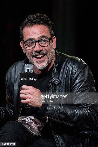 Actor Jeffrey Dean Morgan discusses 'The Walking Dead' during The Build Series at AOL HQ on November 30 2016 in New York City