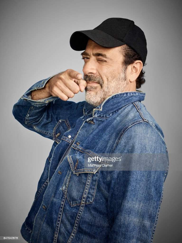 Actor Jeffrey Dean Morgan from 'The Walking Dead' is photographed for Entertainment Weekly Magazine on July 23, 2016 at Comic Con in the Hard Rock Hotel in San Diego, California.