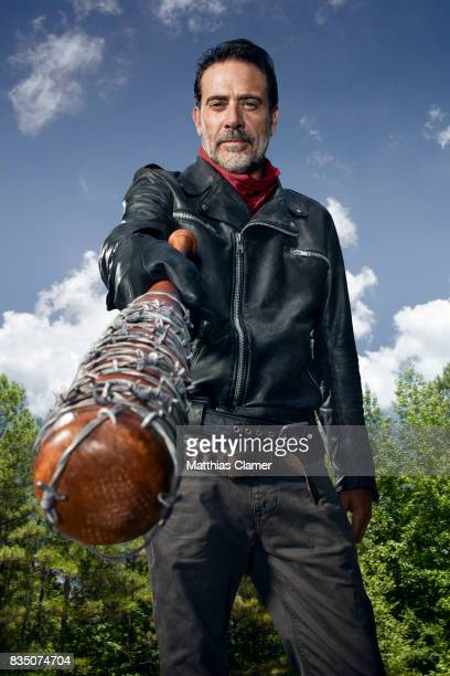 Actor Jeffrey Dean Morgan is photographed for Entertainment Weekly Magazine on July 9 in Los Angeles California PUBLISHED