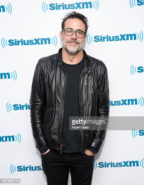 Actor Jeffrey Dean Morgan visits the SiriusXM Studio on December 1 2016 in New York City