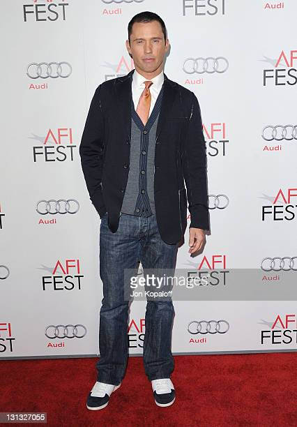 Actor Jeffrey Donovan arrives at the 2011 AFI FEST Opening Night Gala 'J Edgar' Premiere at Grauman's Chinese Theatre on November 3 2011 in Hollywood...