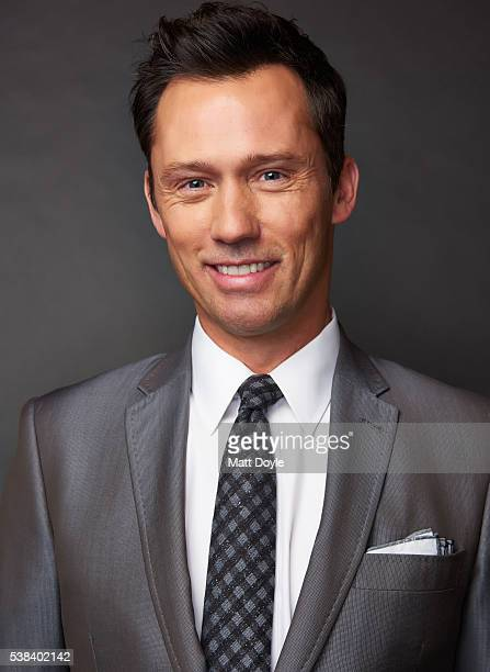 Actor Jeffrey Donovan is photographed at the Hulu UpFront for TV Guide Magazine on May 4 2016 in New York City