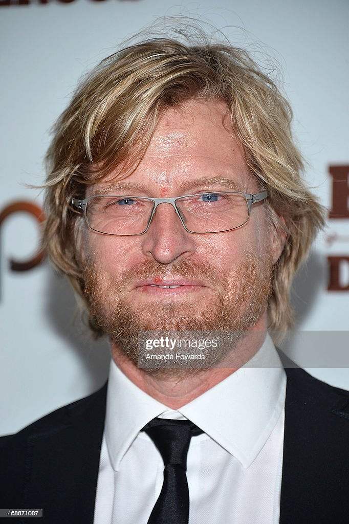 Actor Jeffrey Doornbos arrives at the Chipotle World Premiere of web series 'Farmed And Dangerous' at the DGA Theater on February 11, 2014 in Los Angeles, California.