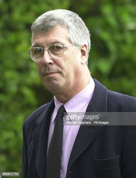 Actor Jeffrey Holland from the HideHi series after the funeral service for Liz Sherlock at Mortlake crematorium in London Liz Sherlock was run over...