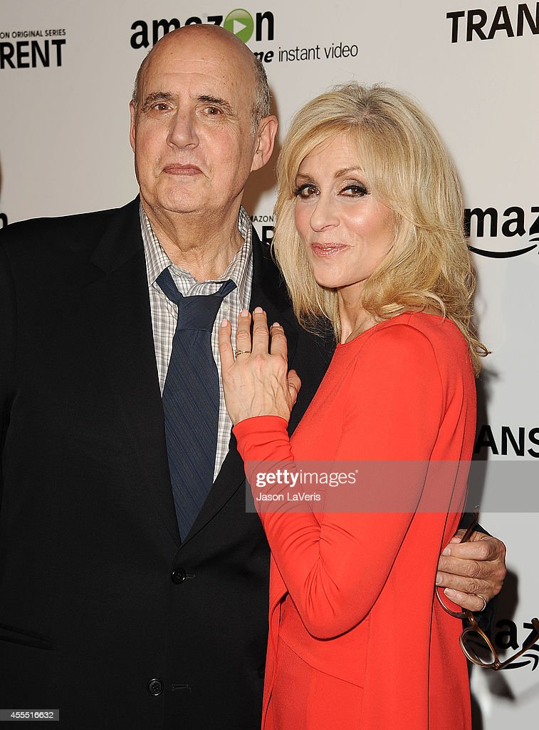 Actor Jeffrey Tambor and actress Judith Light attend the premiere of 'Transparent' at Ace Hotel on September 15, 2014 in Los Angeles, California.