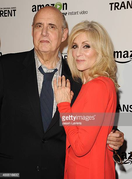 Actor Jeffrey Tambor and actress Judith Light attend the premiere of 'Transparent' at Ace Hotel on September 15 2014 in Los Angeles California