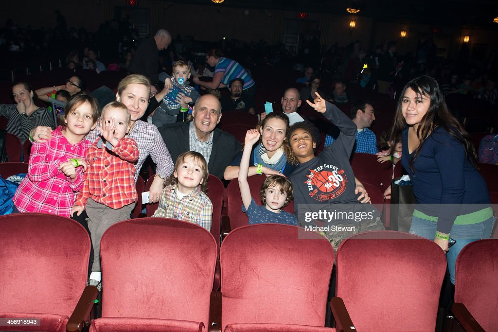 Actor Jeffrey Tambor (C) and family attend 'Yo Gabba Gabba! Live!' at The Beacon Theatre on December 22, 2013 in New York City.