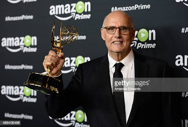 Actor Jeffrey Tambor arrives at Amazon Video's 67th Primetime Emmy Celebration at The Standard Hotel on September 20 2015 in Los Angeles California