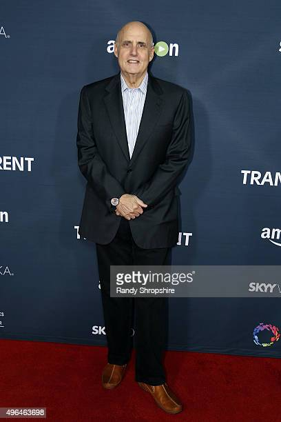 Actor Jeffrey Tambor arrives to the premiere of Amazon's 'Transparent' Season 2 at SilverScreen Theater at the Pacific Design Center on November 9...