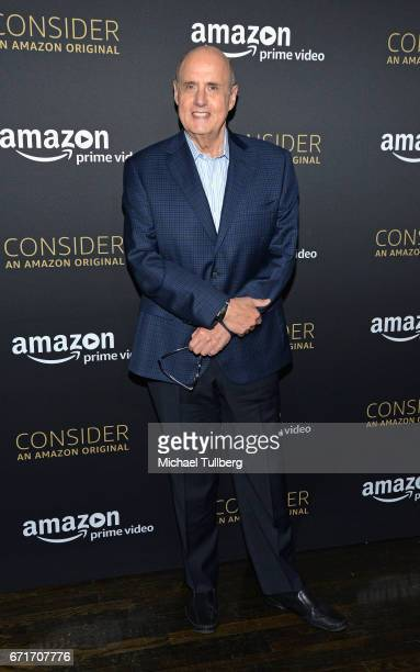 Actor Jeffrey Tambor attends Amazon Prime Video's Emmy FYC event and screening for 'Transparent' at Hollywood Athletic Club on April 22 2017 in...
