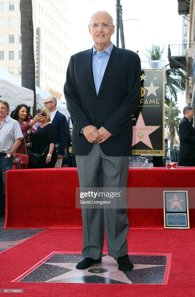 Actor Jeffrey Tambor attends his being honored with a Star on the Hollywood Walk of Fame on August 8, 2017 in Hollywood, California.