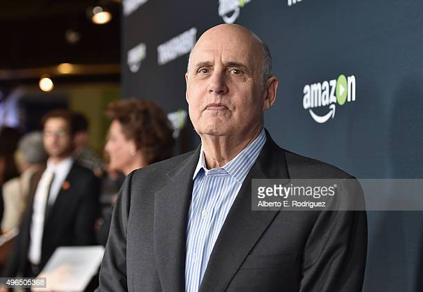 Actor Jeffrey Tambor attends the Premiere Of Amazon's 'Transparent' Season 2 at SilverScreen Theater at the Pacific Design Center on November 9 2015...