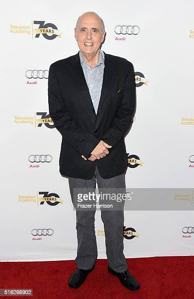 Actor Jeffrey Tambor attends the Television Academy's 'Transparent Anatomy Of An Episode' at The Theatre at Ace Hotel on March 17 2016 in Los Angeles...